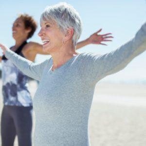 Группа здоровья с людьми зрелого возраста и людьми, ведущими малоподвижный образ жизни