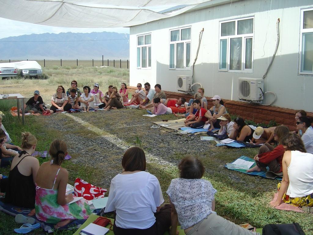 Летняя школа на Алаколе (2010)